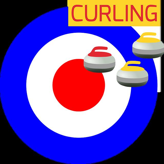 plakát na curling