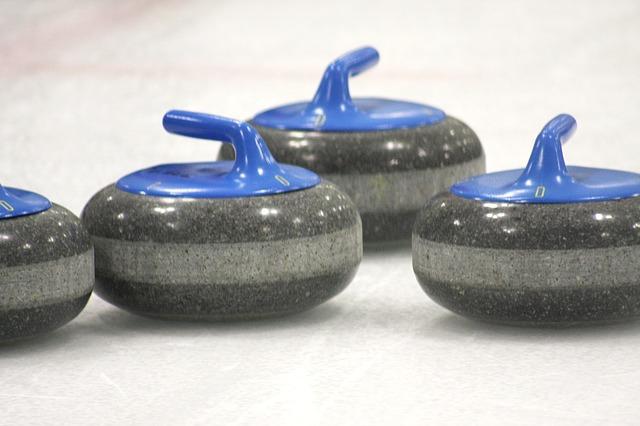curling kameny