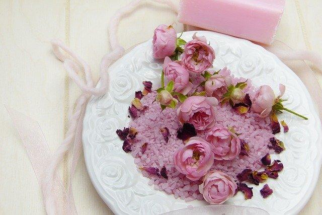 kytičky a mýdlo