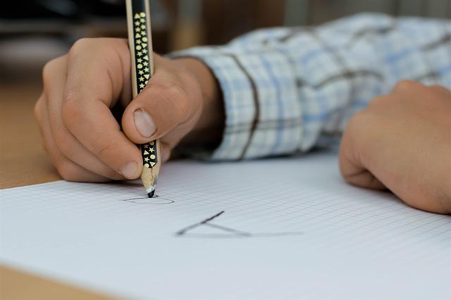 psaní a
