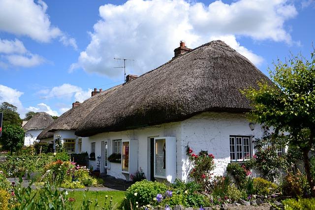 chalupa v Irsku