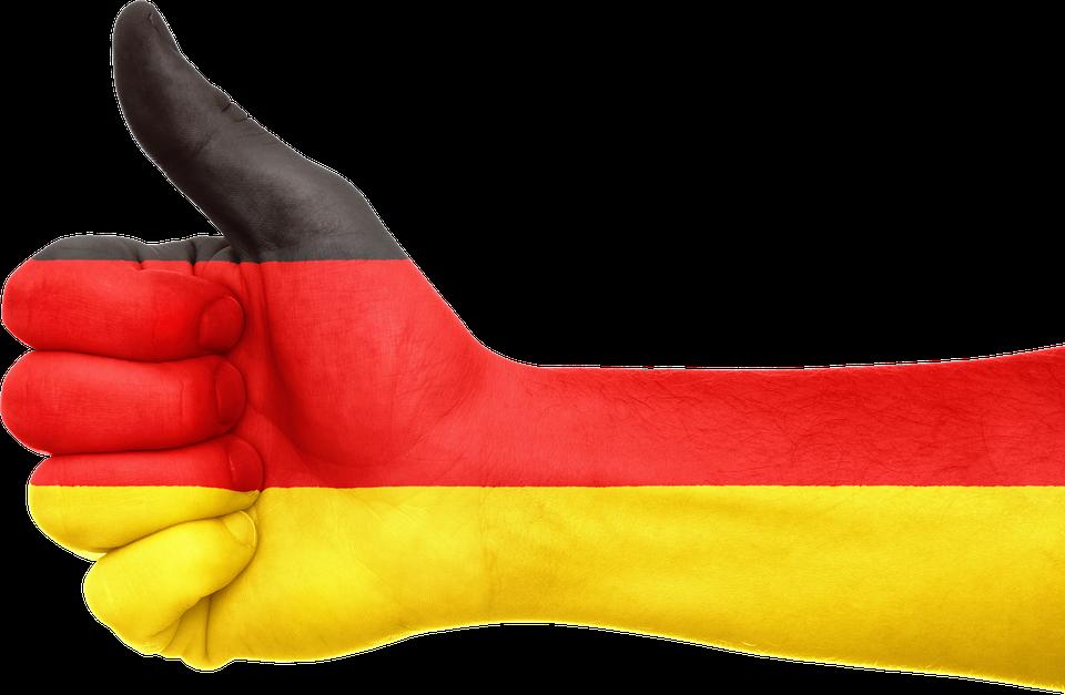 německá ruka